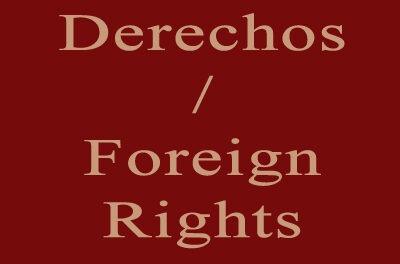 Derechos / Foreign Rights