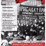 V Feria del Libro Marxista en el centenario de la Revolución Rusa