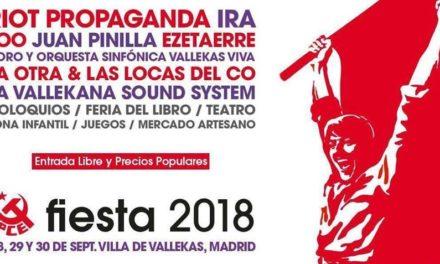 Ediciones Irreverentes y M.A.R. Editor en la Fiesta del PCE 2018