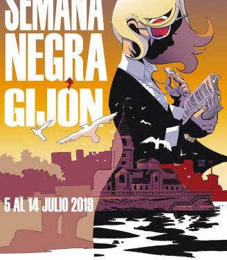 M.A.R. Editor en la Semana Negra de Gijón 2019