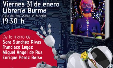 Presentaciones de «Sexo Robótico» por toda España