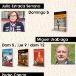 Ediciones Irreverentes y M.A.R. Editor en la Feria del Libro de San Sebastián