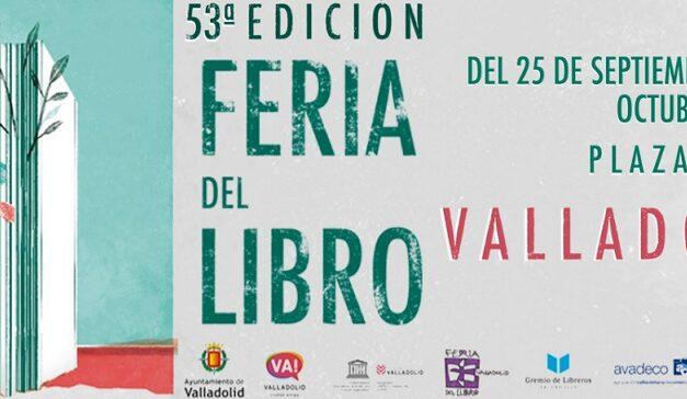 M.A.R. Editor y Ediciones Irreverentes participan en la 53 Feria del Libro de Valladolid