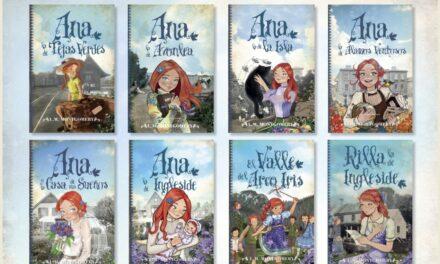 Sexto Continente, de REE, y Toromítico (Almuzara) te regalan dos lotes de 8 libros de la colección de Ana la de Tejas Verdes