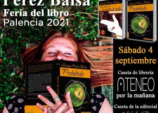 M.A.R.Editor y Ediciones Irreverentes en la Feria del Libro de Palencia 2021