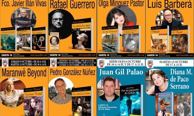 M.A.R. Editor y Ediciones Irreverentes en la Feria del Libro de Murcia